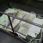 Bisher wurde während des Einstellvorgangs viel Ausschuss produziert. wertvolles Papier, das direkt in den Müll wandert